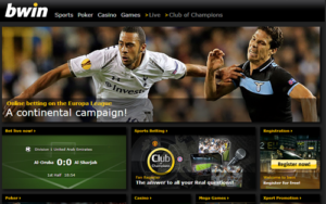 Bwin.com Sports betting & casino bonus review Screenshot